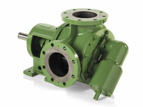 Internal gear pump for pumping of bitumen & asphalt