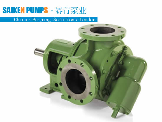 Internal gear pump for soap