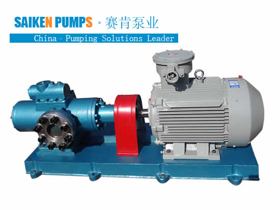 Three Screw Pumps for oil Circulations and Feeding