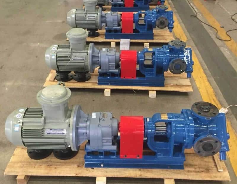 JACKET GEAR PUMPS FOR ASPHALT BITUMEN