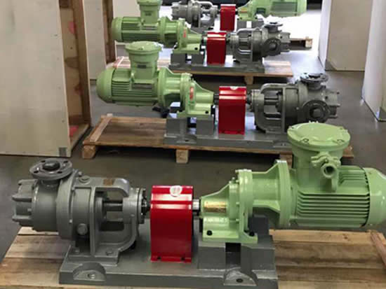 NYP internal gear pumps