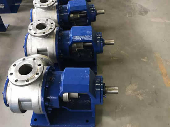 high-viscosity pump