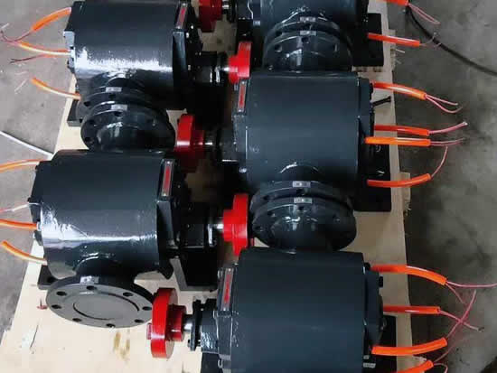Electrical-heating-bitumen-gear-pump