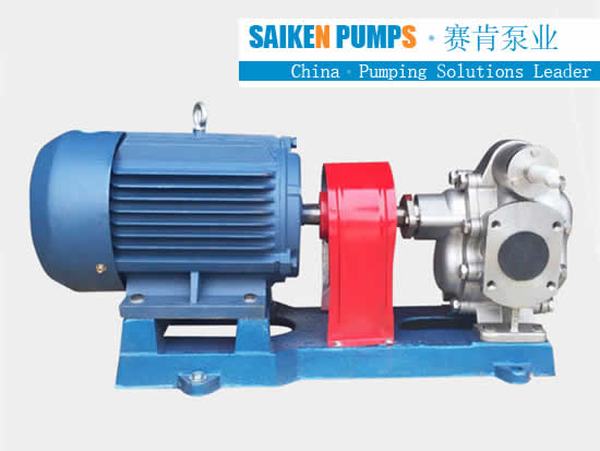 KCB ss gear pump supplier