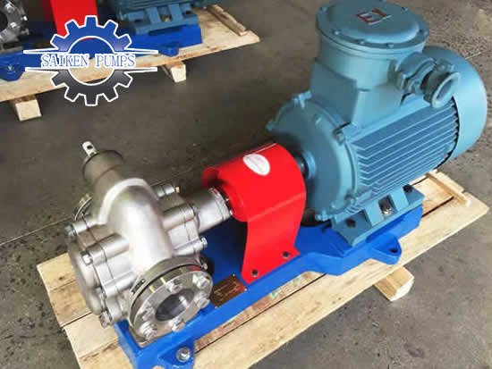 KCB stainless steel gear pump