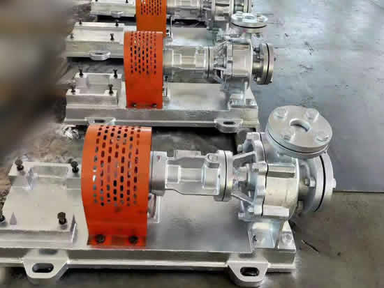 centrifugal Thermal Liquid Hot Oil Pumps