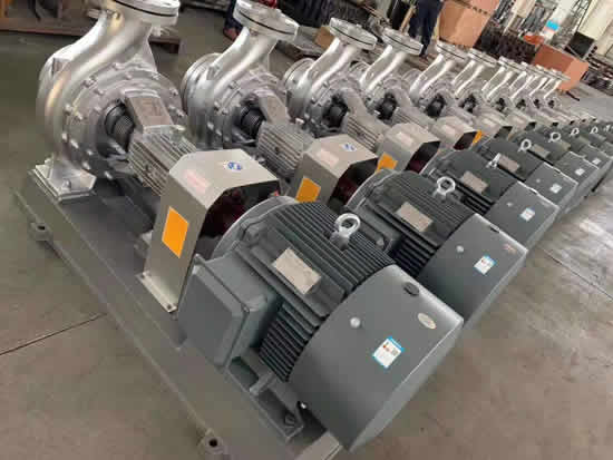 Thermal oil circulating pump